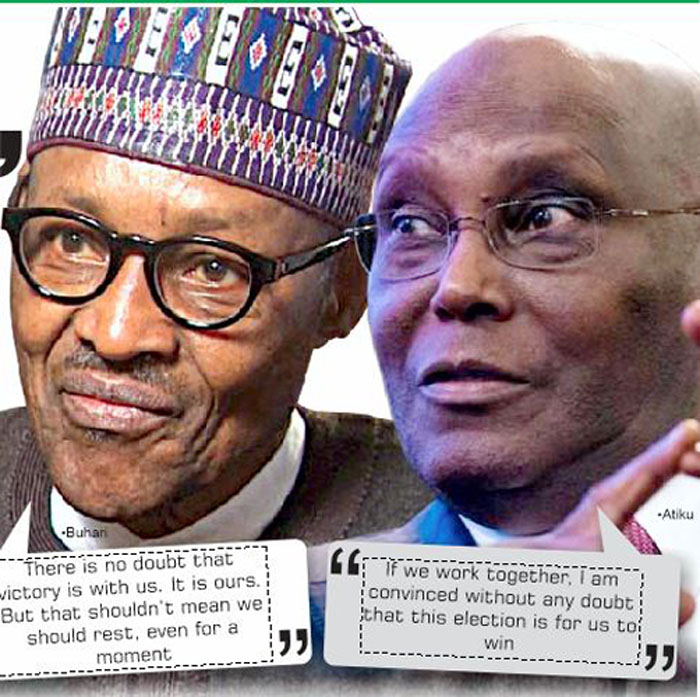 Image result for Again, Atiku blames Buhari