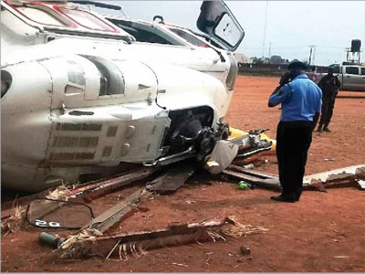 Image result for PDP calls for investigation into crash of Osinbajo's chopper