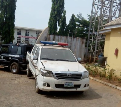 Image result for Dino Melaye Damaged 2 Police Vehicles While Attempting Escape From Custody – Witness