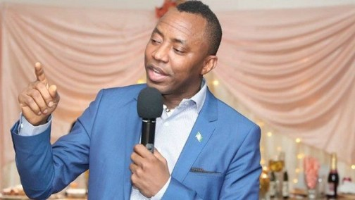 Sowore, Revolution now