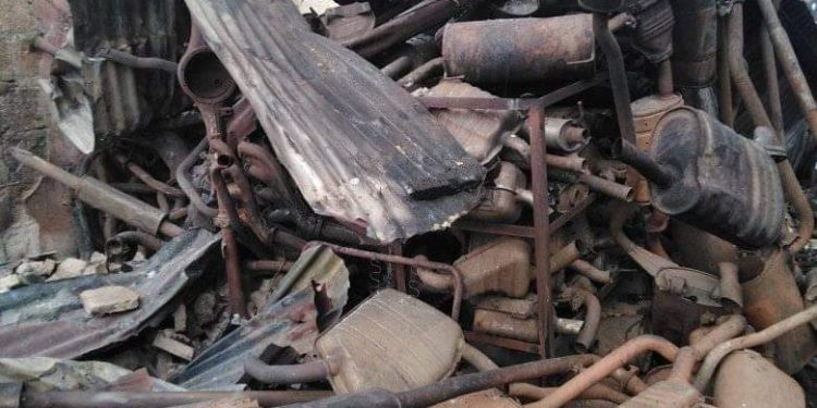 Edo spare parts market