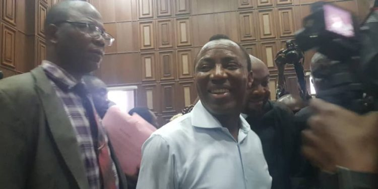 PHOTOS: Sowore arraigned before Fed High Court Abuja