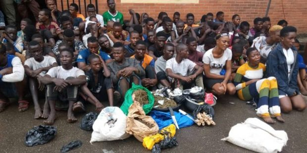 Task force nabs 71 miscreants in early morning raid at Oshodi