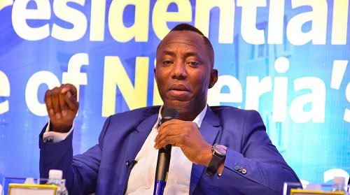 FG charges Sowore with money laundering, treasonable felony