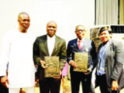 Group honours Shell for youth development - The Nation Newspaper