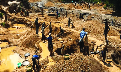 Illegal miners achieve, Fed Govts pain - The Nation Newspaper