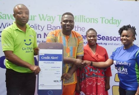 Fidelity Bank presents prizes to promo winners - The Nation Newspaper