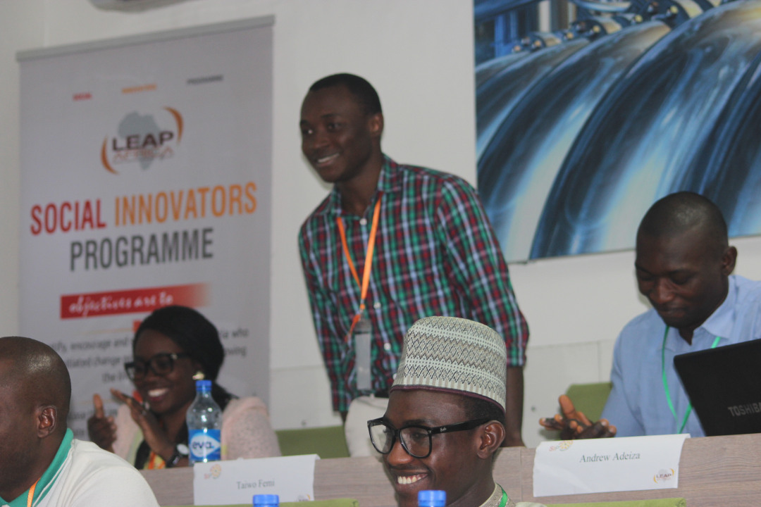 LEAP Africa, Union Bank empower social innovators