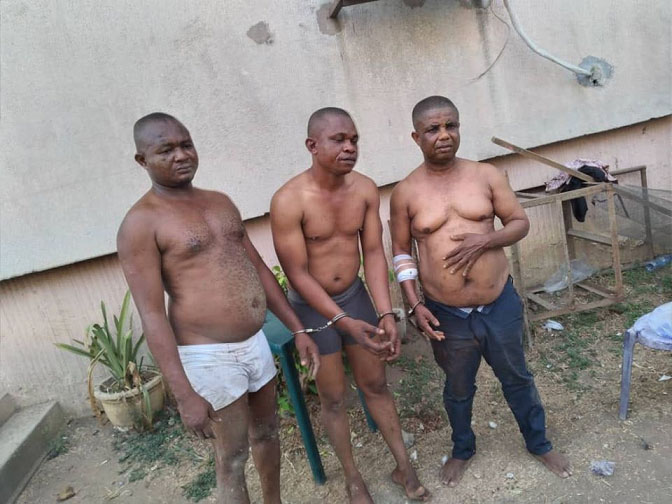 Libya Returnee, 2 Others Arrested  After Failed Robbery