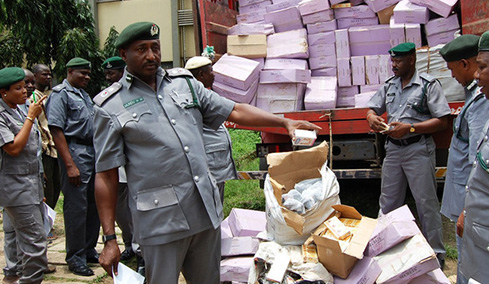 Customs impounds goods worth N1.2 billion - The Nation Nigeria News