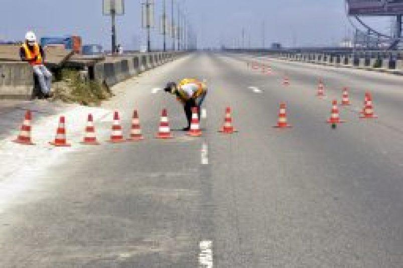 Repair works begin on Third Mainland bridge