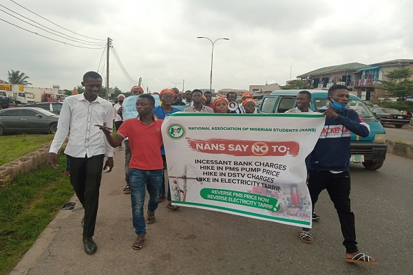 Fuel hike protest