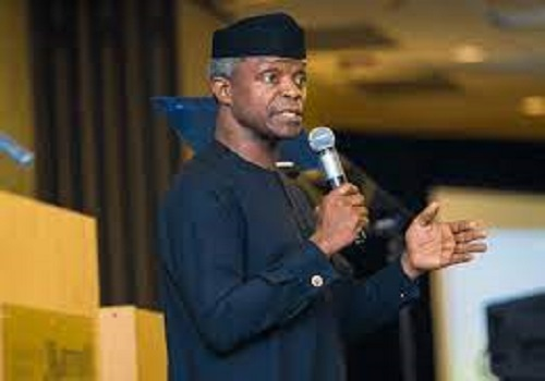 FG leveraging fintech innovation to tackle agric, energy challenges – Osinbajo
