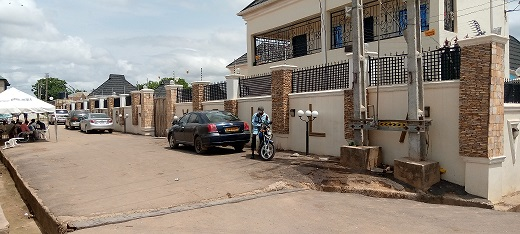 Calm & Normalcy Return Io Igboho's Residence After Alleged Shooting