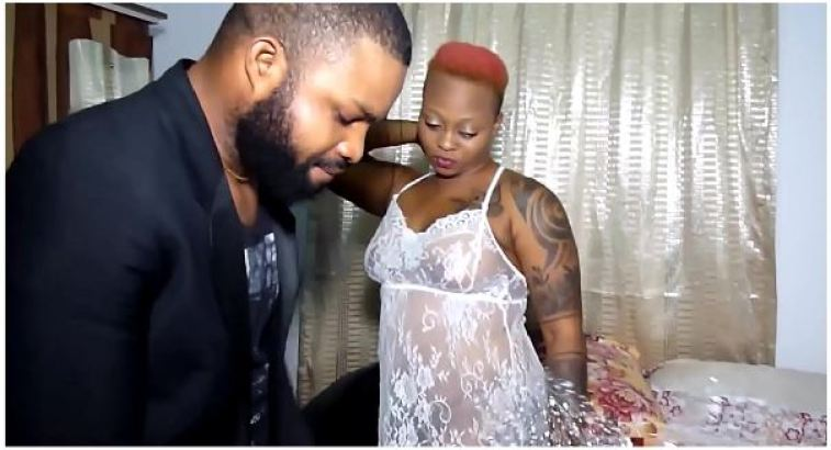 •Mareme and Krissy Joh preparing for a sex scene