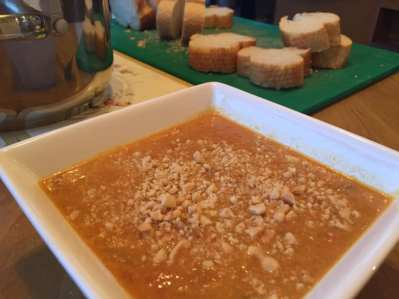 Vegan Pumpkin Soup on the Natural Essex Girl