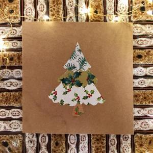 Bohemian Star Cards Christmas Tree Design