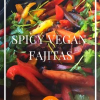 Spicy Vegan Fajitas