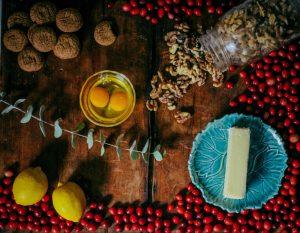 Cranberry Curd Pie Ingredients