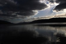 Before I went home to Colorado, I spent a few days in England, Ireland, and Scotland. Here's a picture of the famous Loch Ness. Unfortunately, I saw no sign of the Loch Ness Monster.