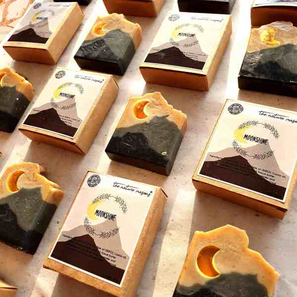 Moonshine Artisanal Cold Processed Soap