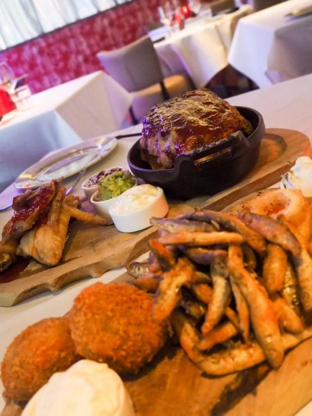 Jazz Hands & Cocktails Food Sharing Plates