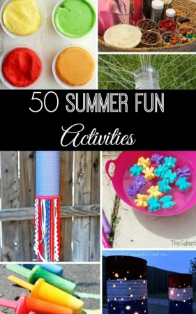 50 Summer Fun Activities
