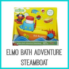 Elmo Bath Adventure Steamboat