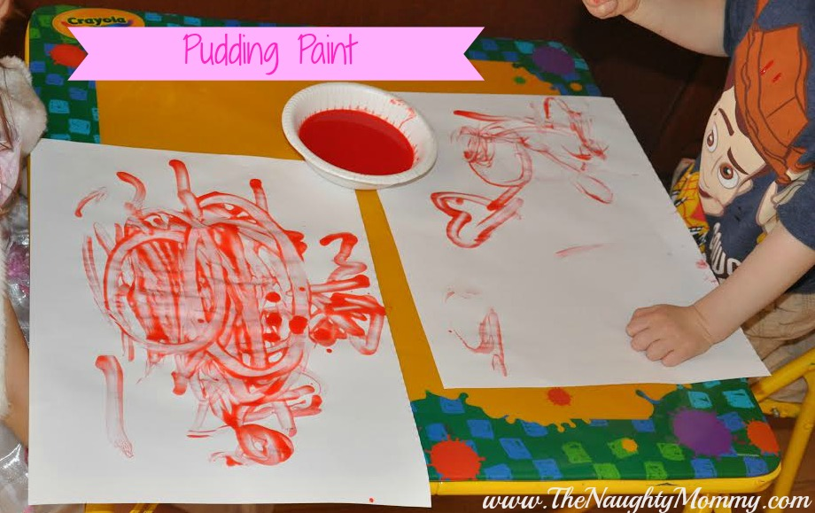 Pudding Paint