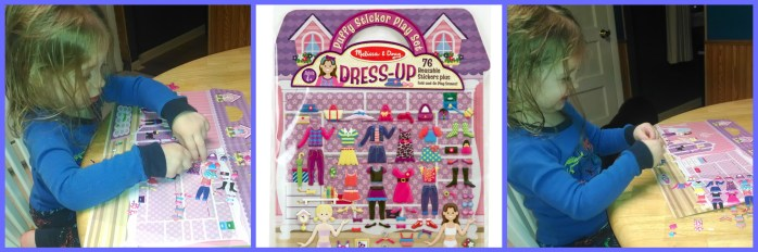 Melissa & Doug Puffy Stickers Collage