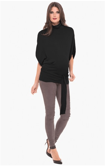 Turtleneck Maternity Sweater