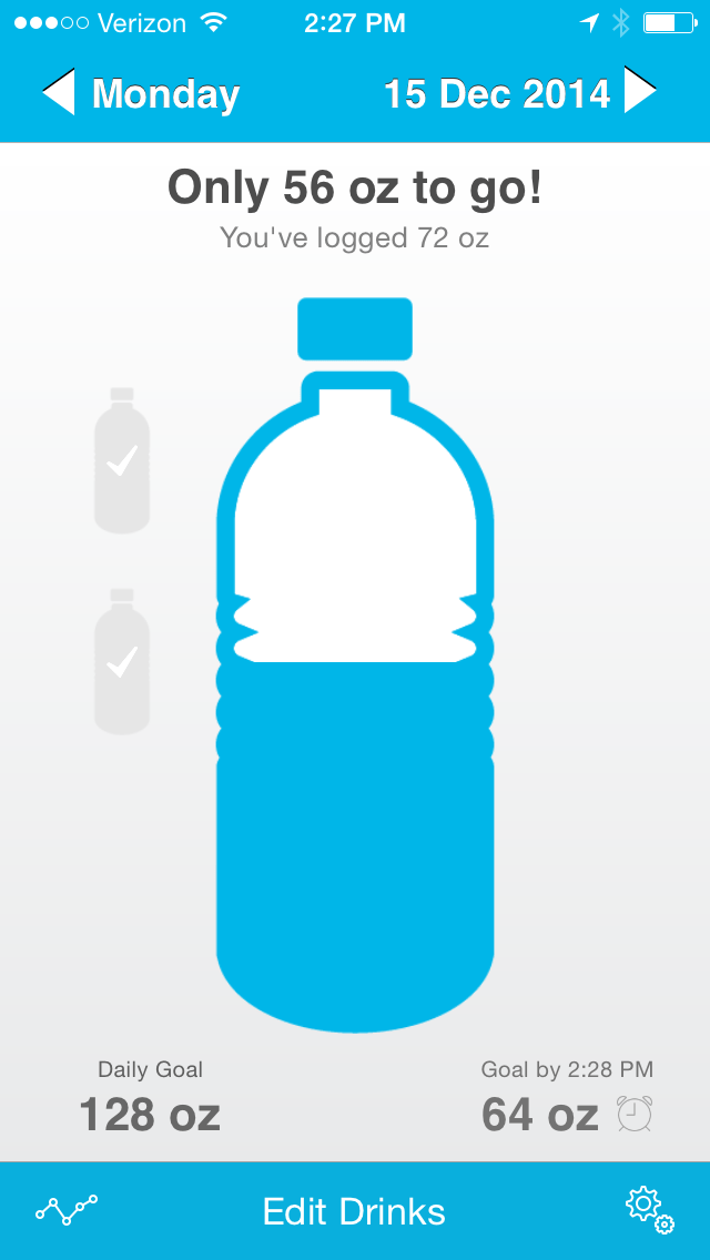 how to calculate how much water you need a day
