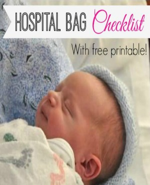 Hospital Bag Checklist Mini