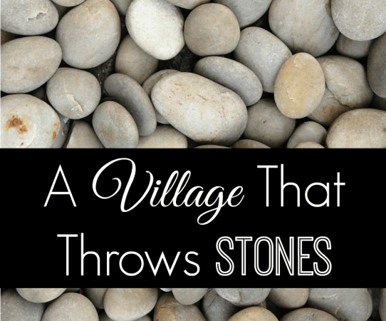 FB A Village That Throws Stones (1)