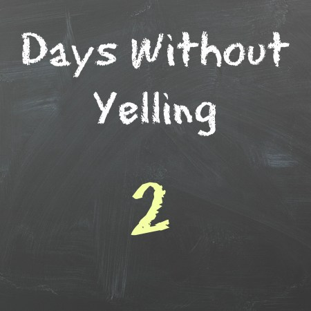 Days Without Yelling
