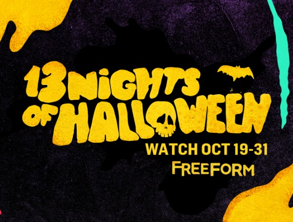 13 days of halloween movies schedule