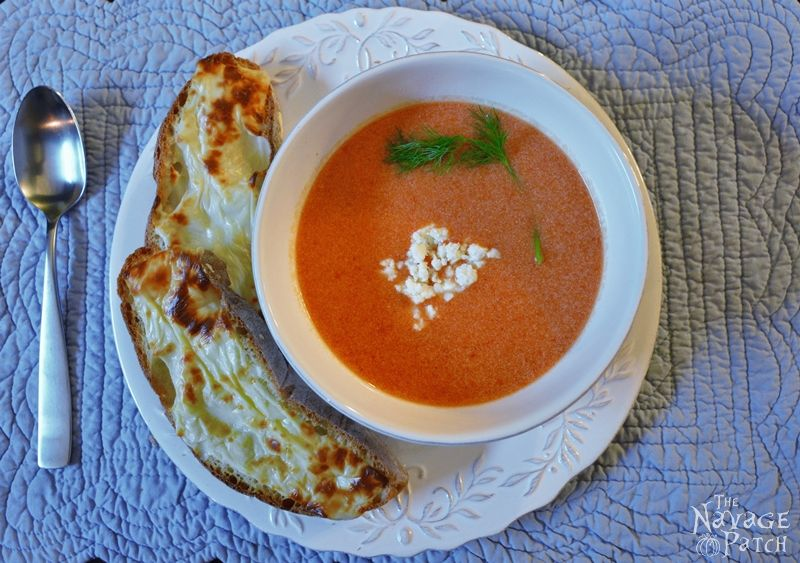 Cherry Tomato Soup - TheNavagePatch.com
