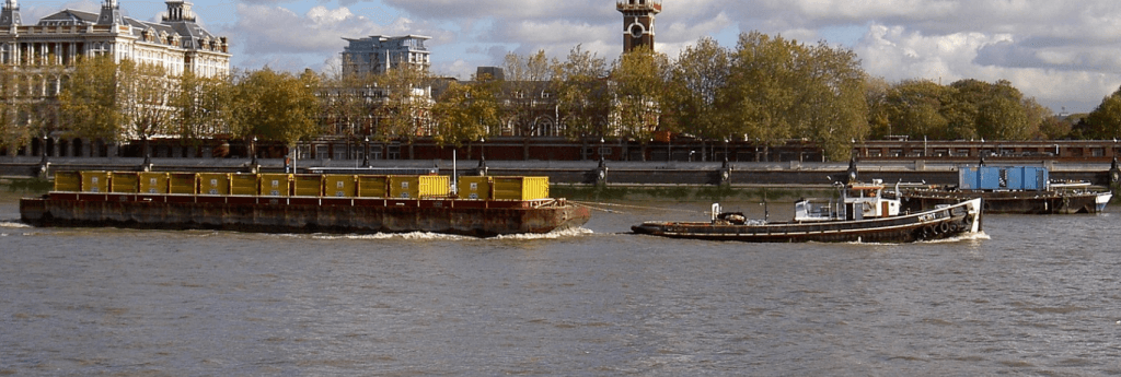 Are you chartering a tug bigger than necessary for your Barge?