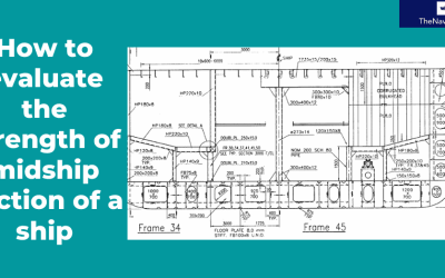 How to calculate the strength of Midship Section of a Ship