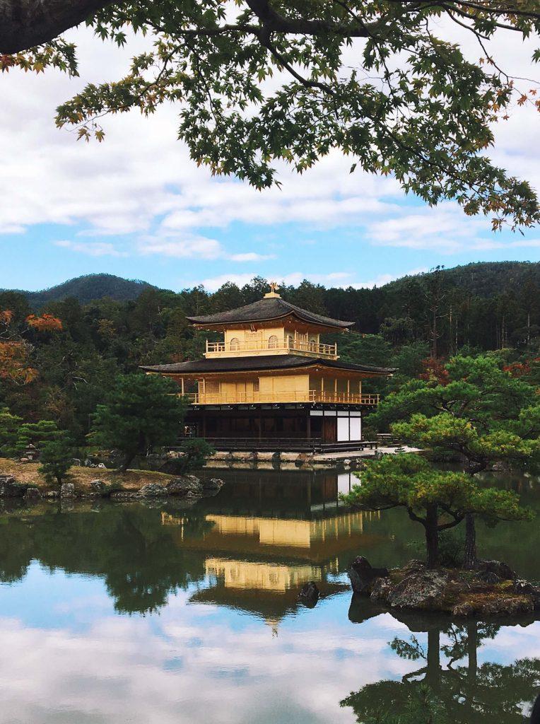 Kinkaku-ji Golden Palace Kyoto, what to do in kyoto
