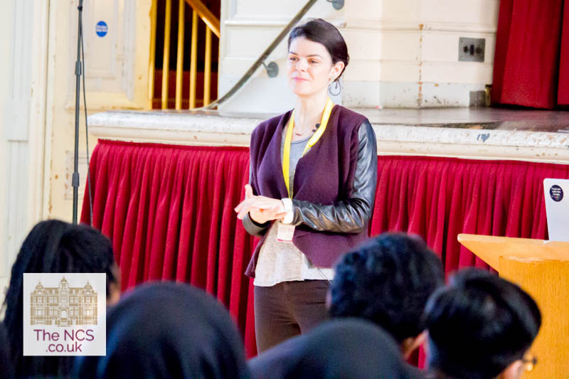 Alice Bentinck MBE Inspires Newham Collegiate Sixth Form Centre (The NCS) Entreprenuers To Be Leaders In An Engaging Lecture