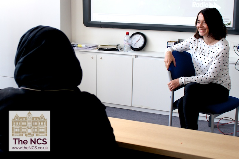 Author And Absolute Radio Presenter Annabel Port Meets Students At Newham Collegiate Sixth Form Centre (The NCS)