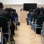 Lord Mervyn King Visits Newham Collegiate Sixth Form Centre (The NCS) To Deliver A Student Lecture
