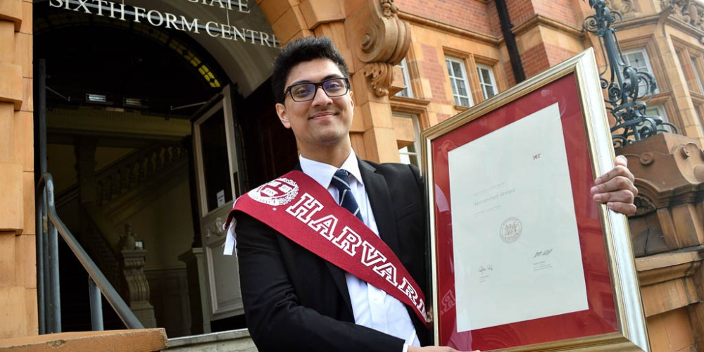 Student Isuf Mohammed Earns Offers To Study At Two Ivy League Universities MIT And Harvard - Newham Collegiate Sixth Form Centre (The NCS)