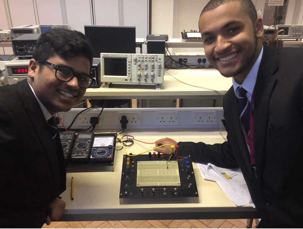 Newham Collegiate Sixth Form Centre (The NCS) Students Take Part In A Robotics And Engineering Class At Kings College University