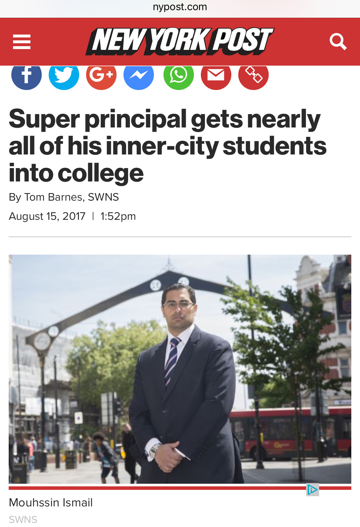 Newham Collegiate Sixth Form Centre In The New York Post