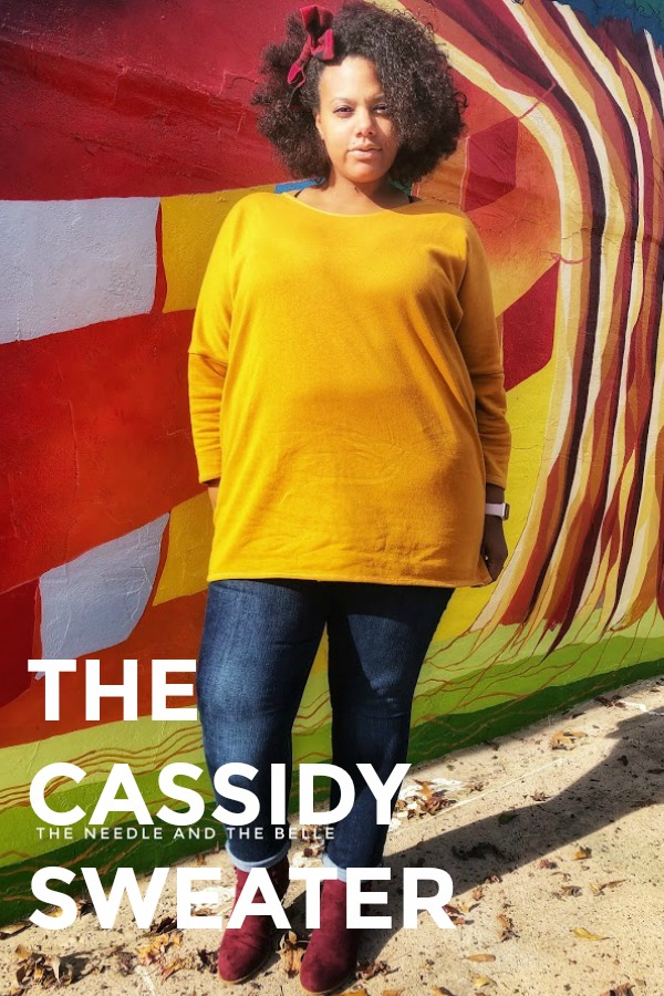 As the temperatures drop, I'm always on the lookout for stylish clothing that's warm and breast feeding friendly. The Cassidy Sweater is just that.