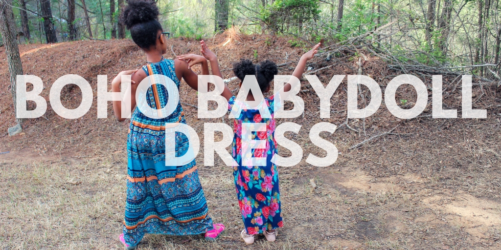 The Patterns For Pirates Boho Babydoll Dress