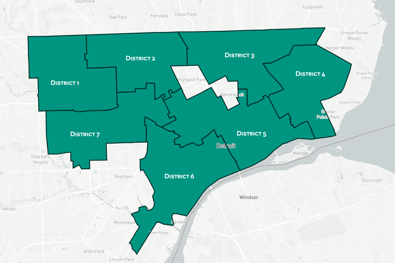 Help Us Make Detroit S Neighborhood Descriptions And City Map Right