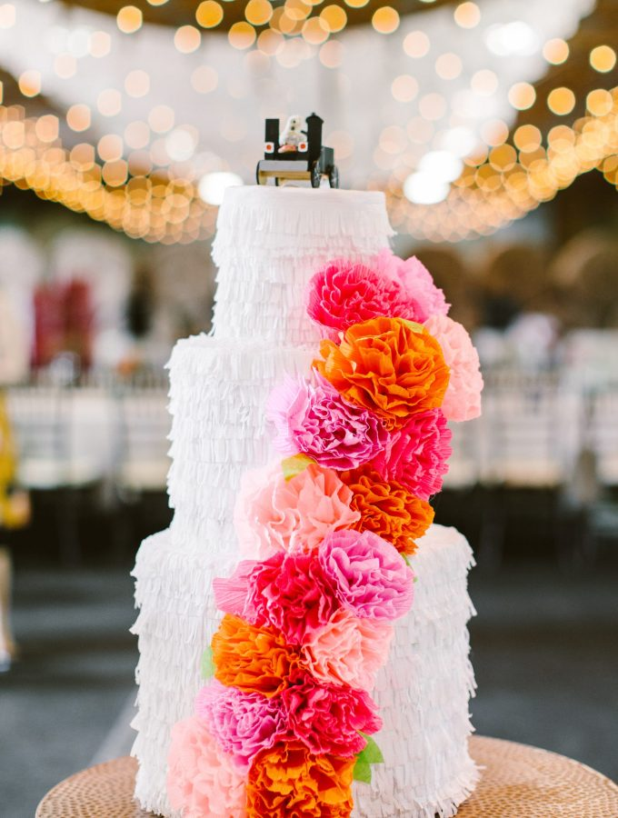 DIY Wedding Cake Piñata